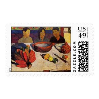 """""""El sello de Paul Gauguin de la comida"""" -"""