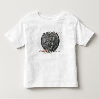 El sello de rey Charles II Playeras