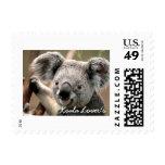 El sello del amante de la koala