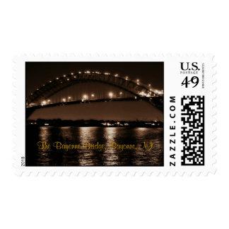 El sello del puente de Bayona