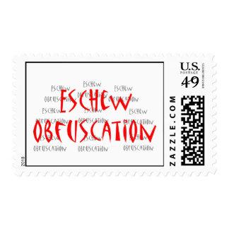 El sello evita la ofuscación