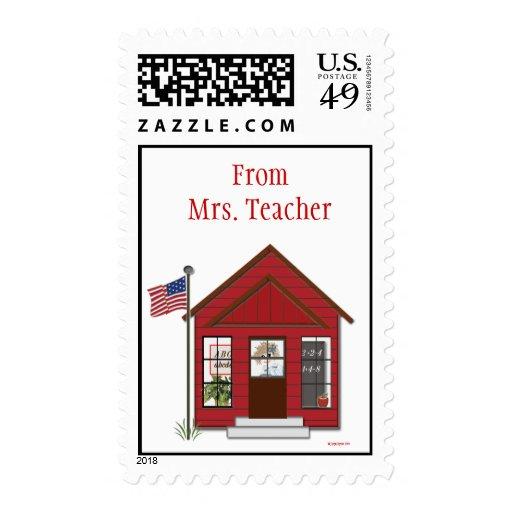El sello personalizado del profesor