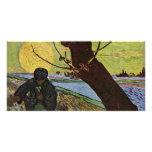 El sembrador de Vincent van Gogh Tarjetas Con Fotos Personalizadas