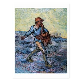 El sembrador después de mijo Vincent van Gogh Postal