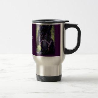 El semental negro taza