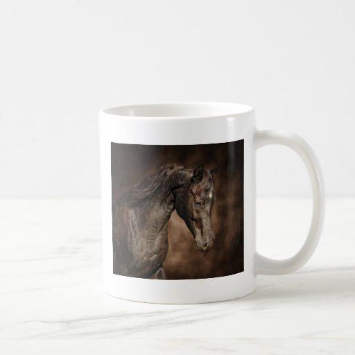 El semental solitario tazas de café