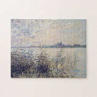 El Sena cerca de la bella arte de Argenteuil Monet Rompecabezas