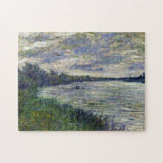El Sena cerca de Vetheuil, bella arte de Monet del Puzzle Con Fotos