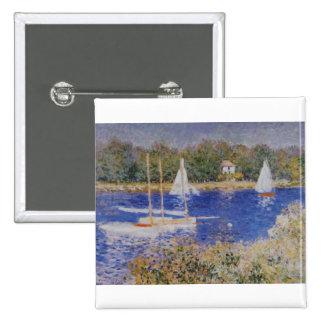 El Sena en Argenteuil, Claude Monet Pins