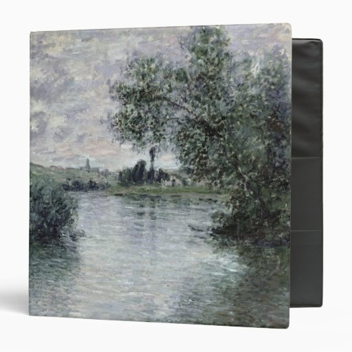 """El Sena en Vetheuil, 1879 Carpeta 1 1/2"""""""