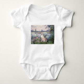 El Sena - galgo italiano 5 Body Para Bebé