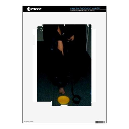 EL SEÑALAR ABAJO iPad 3 SKINS