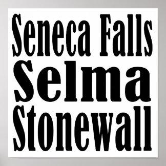 El Seneca se cae poster de Selma Stonewall Póster