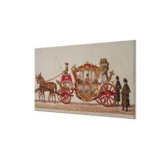 El señor alcalde de Londres, 1853 Lona Envuelta Para Galerías