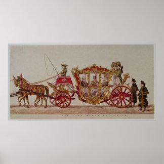El señor alcalde de Londres, 1853 Posters