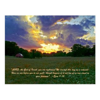 """¡El """"SEÑOR, dios de Israel, usted es honrado! Noso Postal"""
