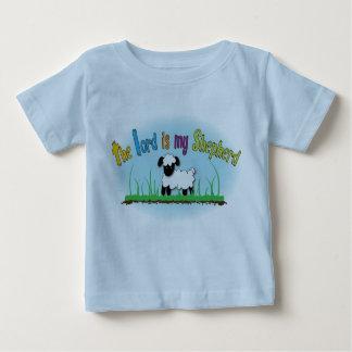 El señor es la camiseta de mis del pastor niños playera para bebé