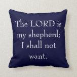 El SEÑOR es mi almohada del pastor