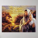 El señor es mi impresión del pastor posters