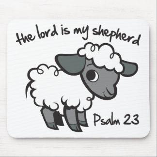 El señor es mi pastor alfombrillas de ratón