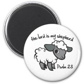 El señor es mi pastor imán redondo 5 cm