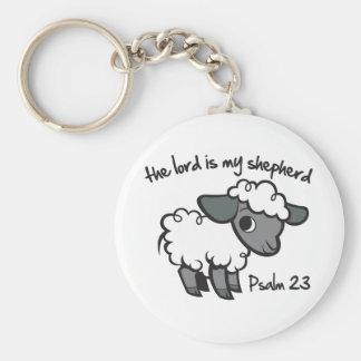 El señor es mi pastor llavero