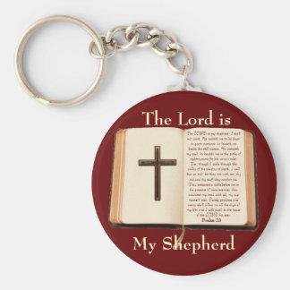 El SEÑOR es mi pastor Llaveros Personalizados