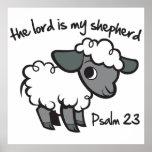 El señor es mi pastor posters