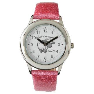 El señor es mi pastor reloj de mano
