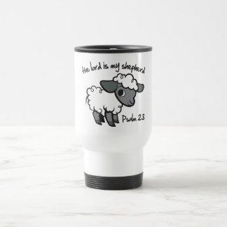 El señor es mi pastor tazas de café