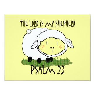 """El SEÑOR es mi salmo 23 del pastor Invitación 4.25"""" X 5.5"""""""