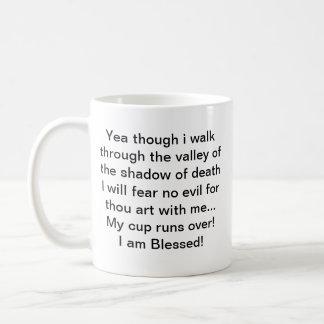 El señor es mi taza del pastor