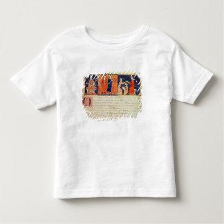 El señor feudal que predica su sermón tshirts