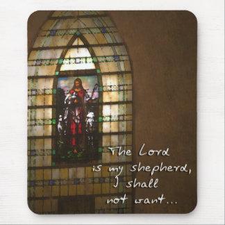 El señor Is My Shepherd Tapetes De Raton