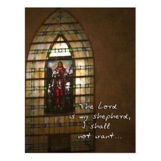El señor Is My Shepherd Tarjetas Postales