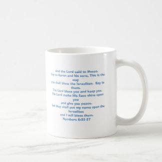 El señor le bendice y le guarda taza