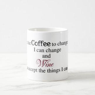 El señor, me da el café….Taza Taza Básica Blanca