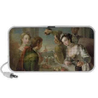 El sentido del gusto, c.1744-47 (aceite en lona) ( altavoz