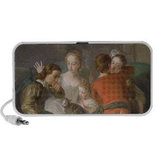 El sentido del tacto, c.1744-47 (aceite en lona) ( iPhone altavoz