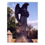 El sepulcro del ángel tarjeta postal