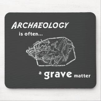 El sepulcro importa estera del ratón tapetes de ratón