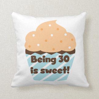 El ser 30 es camisetas y regalos dulces cojín