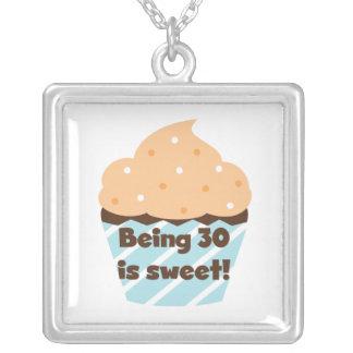 El ser 30 es camisetas y regalos dulces colgante personalizado