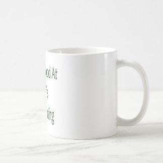 El ser bueno en el tenis es mi cosa taza de café