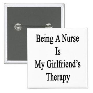 El ser enfermera es la terapia de mi novia pin