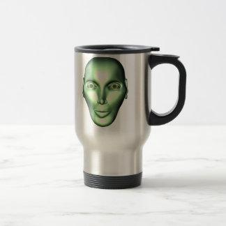 el ser extraterrestre principal extranjero 3D taza