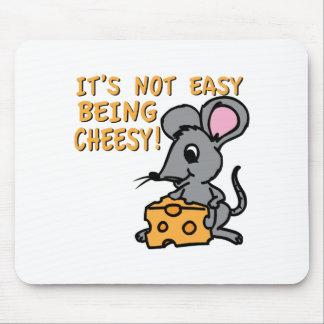 El ser fácil caseoso alfombrilla de raton