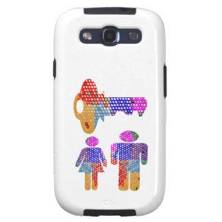 El ser FELIZ JUNTO es la llave Galaxy S3 Cobertura