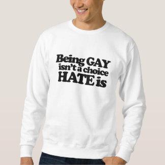 El ser gay no es un odio bien escogido es suéter