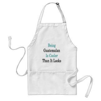El ser guatemalteco es más fresco que mira delantales